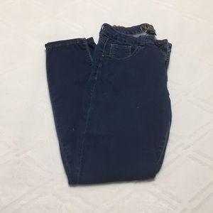 Rue 21 freedom flex skinny jeans